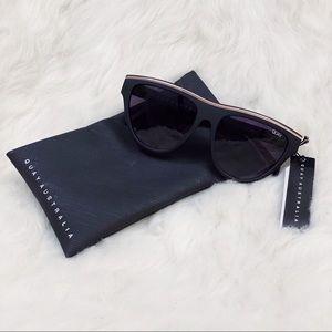 NWT Quay Australia Flight Risk Shield Sunglasses